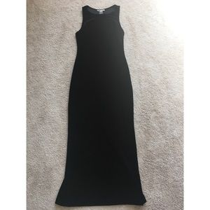 Vintage Rampage Black Velvet Sleeveless Gown